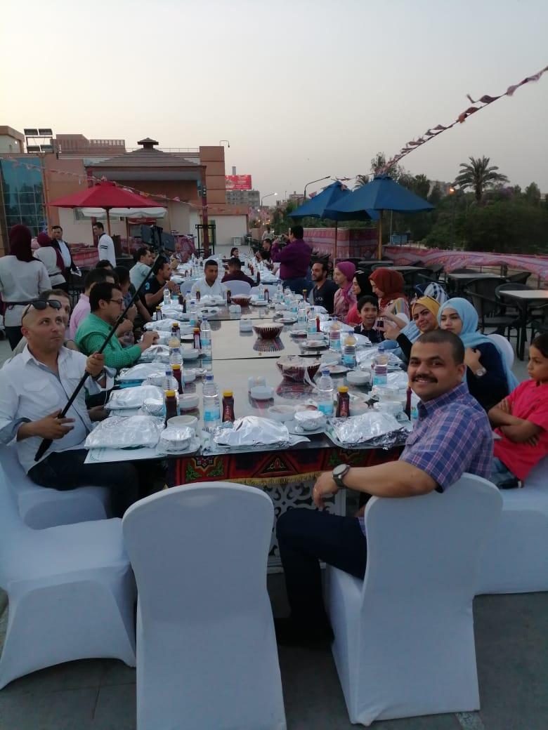 الإفطار الجماعي لشركة الوادى للإتصالات  رمضان 2019