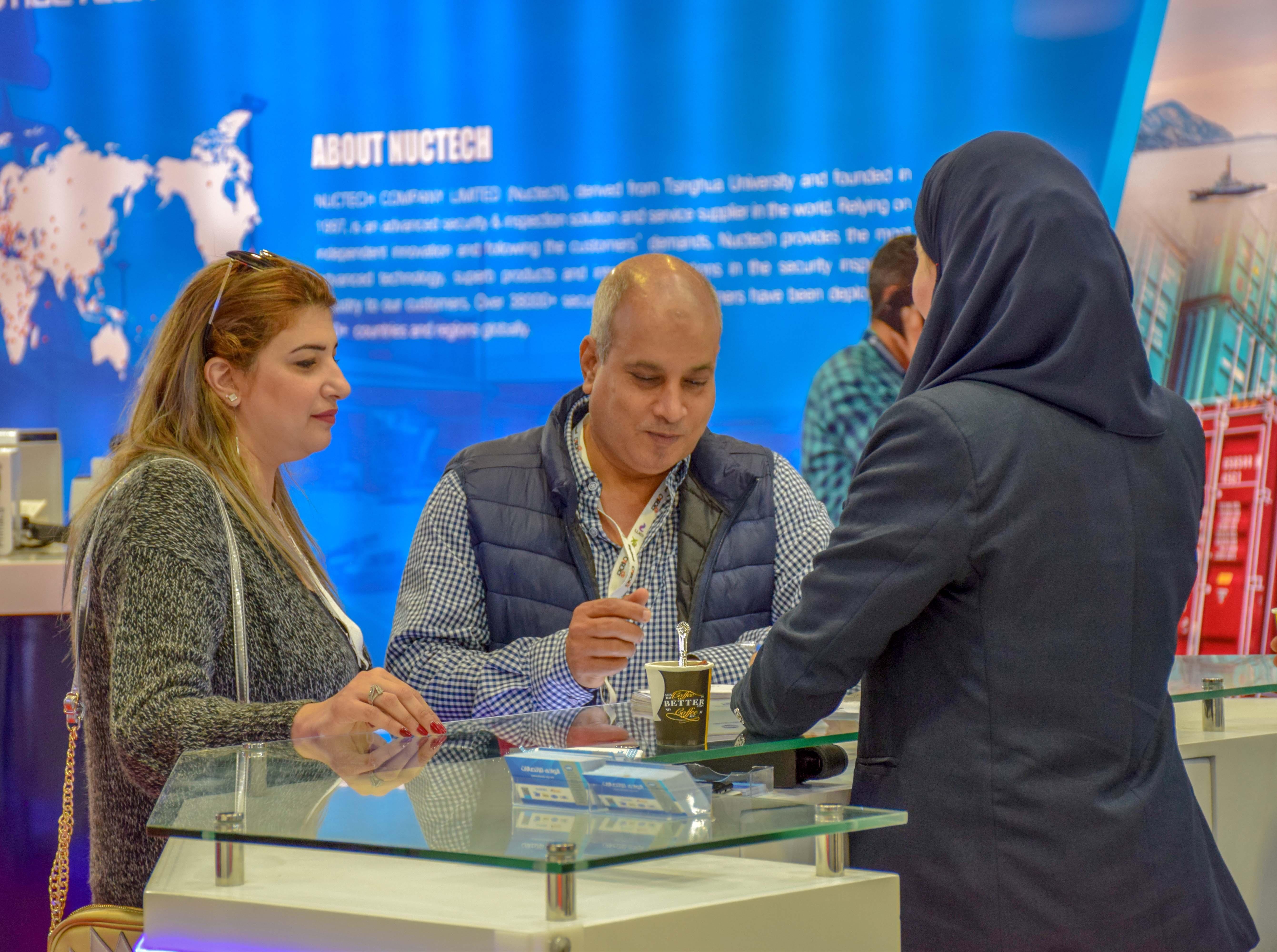 جناح الشركة في معرض القاهرة الدولى للإتصالات